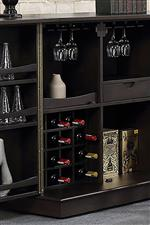 Wine and Stemware Storage