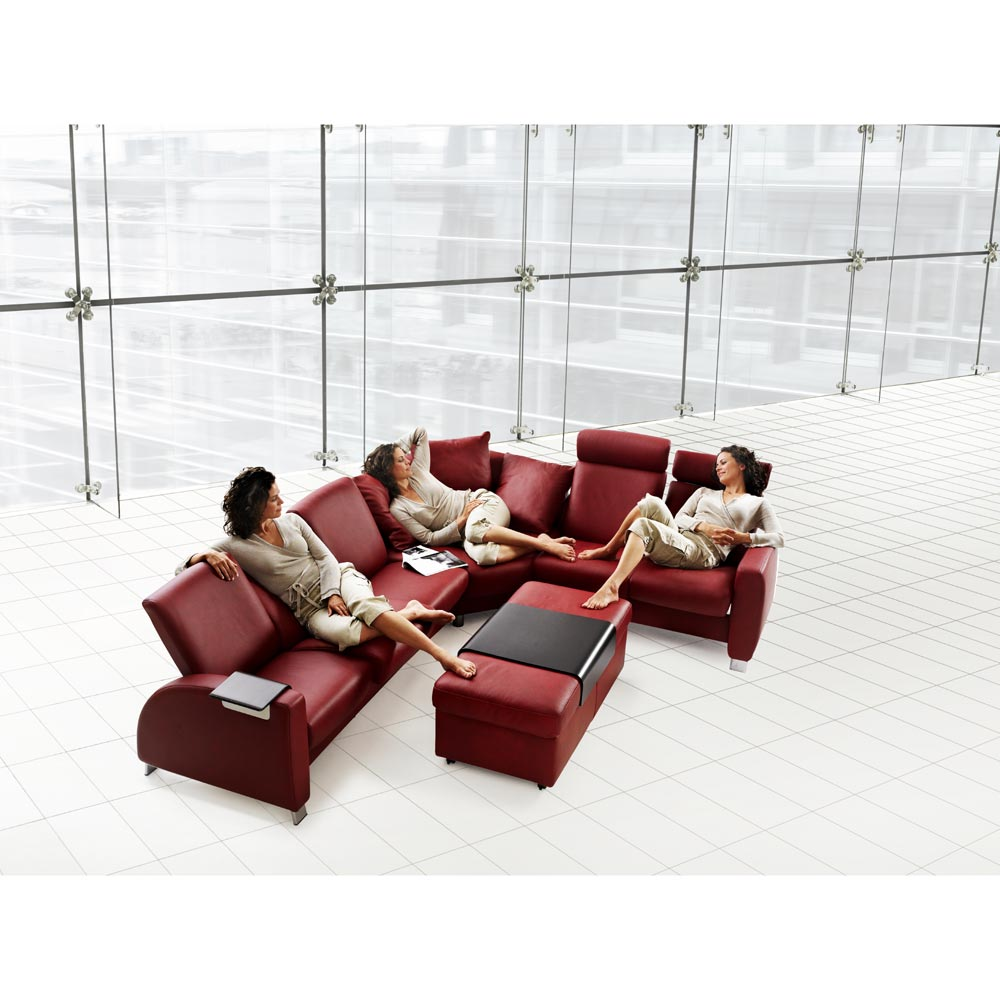 Stressless by Ekornes Stressless Arion Arion Reclining Sectional