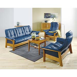 Stressless By Ekornes Stressless Windsor Lowback Reclining Leather Chair Fashion Furniture