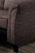 Contemporary Flared Arm with Welt Cord Trim