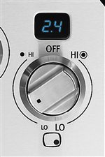 Large 270 Degree Knobs Give You Precise Control you Need for Immaculate Results Consistently