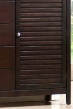 Fluted Cabinet Door as well as Square Tapered Feet