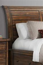 Paneled Sleigh Headboard