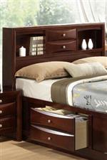 Storage Bed Headboard