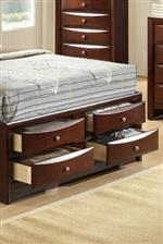Storage Bed Footboard