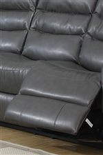 Padded Recliner Footrest