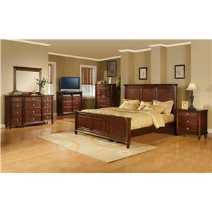 Morris Home Furnishings Lockport 12 Drawer Dresser