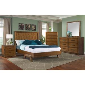 Elements International Mayfield Full Bedroom Group