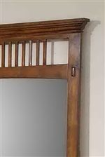 Simple Slat Detailing and Crown Molding
