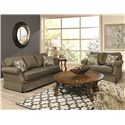 England Blayklee Stationary Living Room Group - Item Number: 1Z00S Living Room Group 1