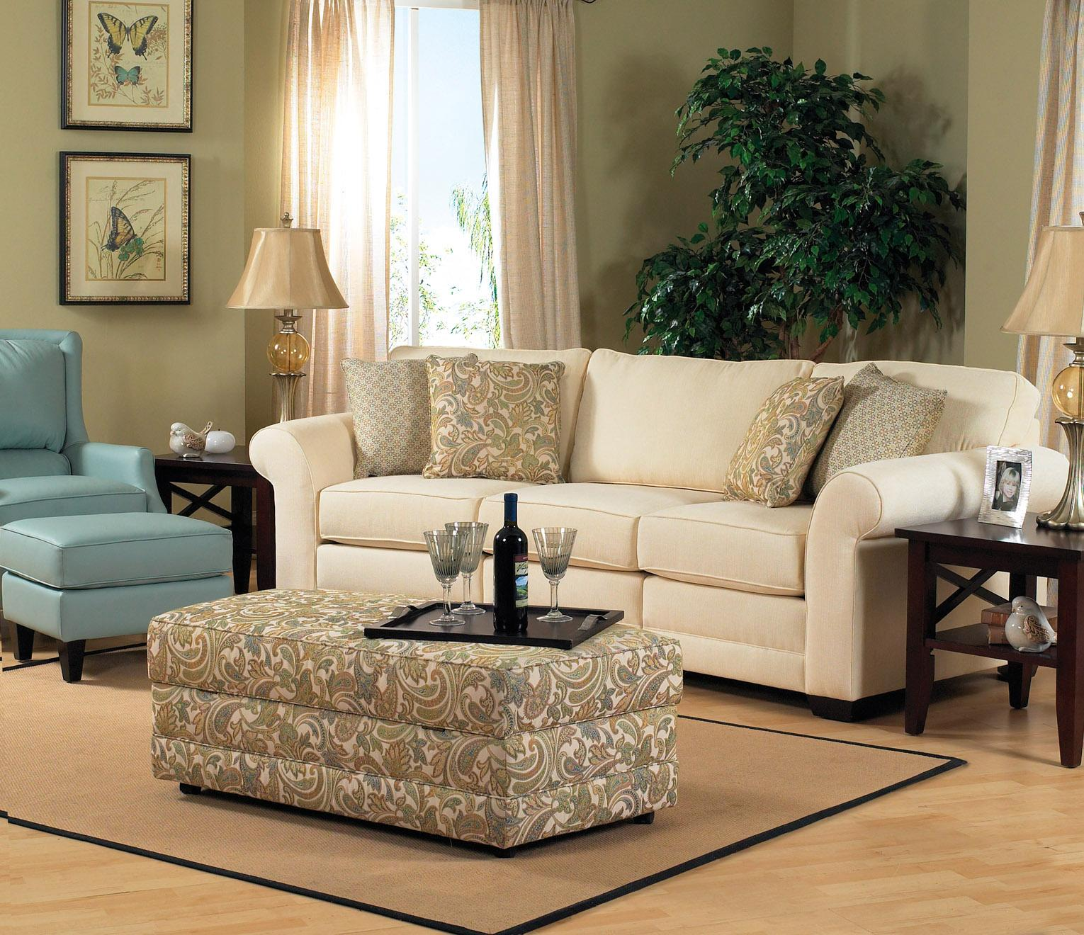 England Brantley 5 Seat Sectional Sofa With Cuddler | SuperStore |  Sectional Sofas