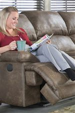 Thick Padding Provides this Collection with Exceptional Comfort, Making it Perfect for Casual Family Rooms