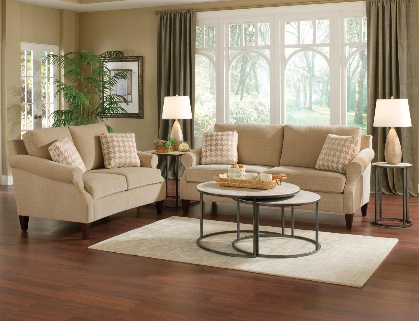 England Duke Stationary Living Room Group - Item Number: 313 Living Room Group 1