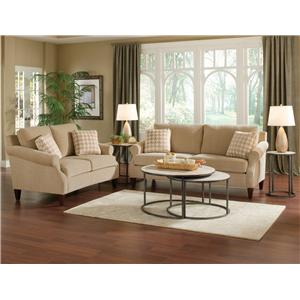 England Duke Living Room Sofa with Casual Style