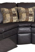 Contrasting Throw Pillows Available In Multiple Fabrics