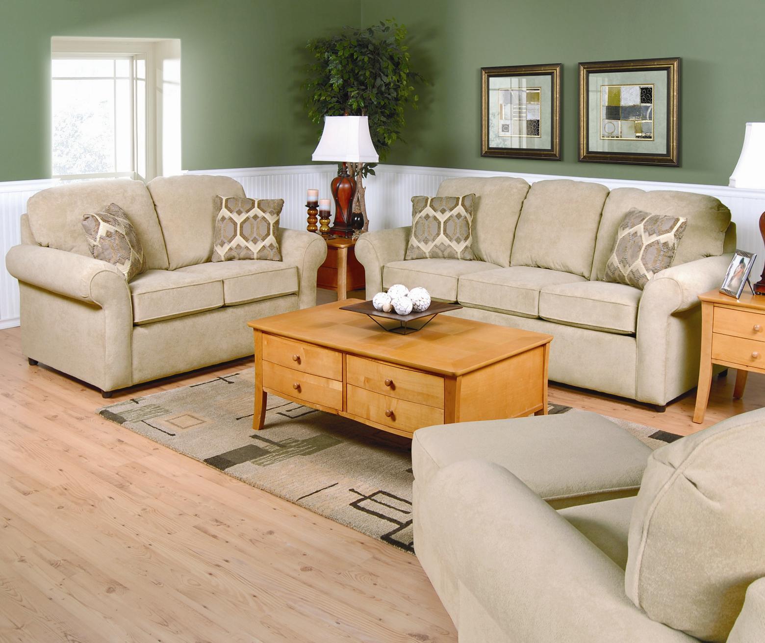 England Malibu 4 5 Seat Corner Sectional Sofa Westrich Furniture