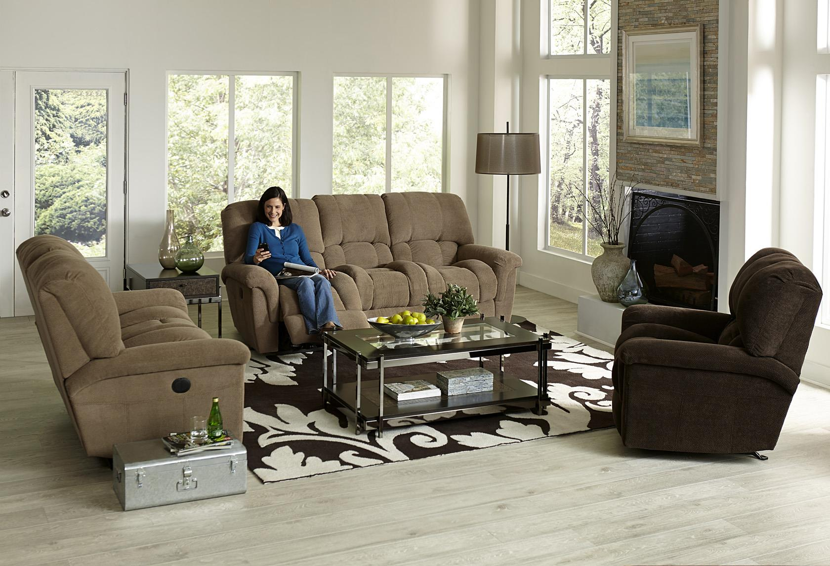 England McBrayar Reclining Living Room Group - Item Number: 2J00 Reclining Group 1