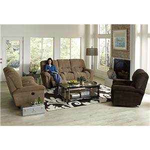 England McBrayar <b>Power</b> Reclining Living Room Group