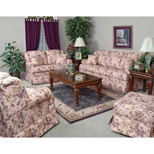 England Rochelle Skirted Sofa