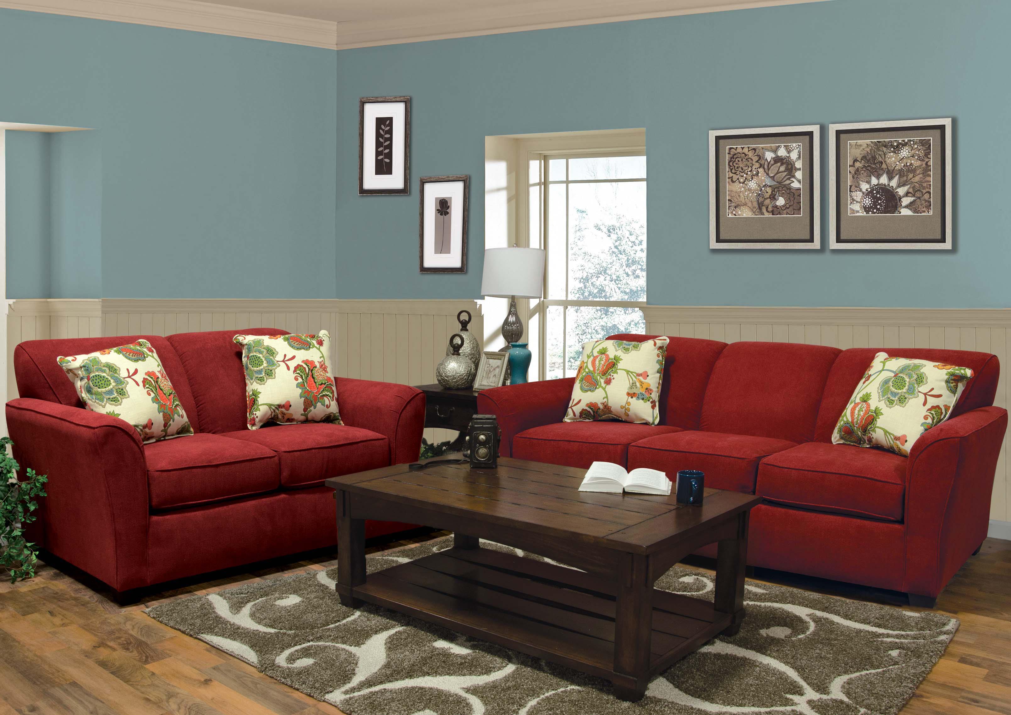 England Smyrna Stationary Living Room Group - Item Number: 300 Living Room Group 1