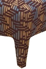 Tall, Fabric Upholstered Legs