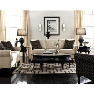 England Telisa  Living Room Loveseat with Classic Furniture Style