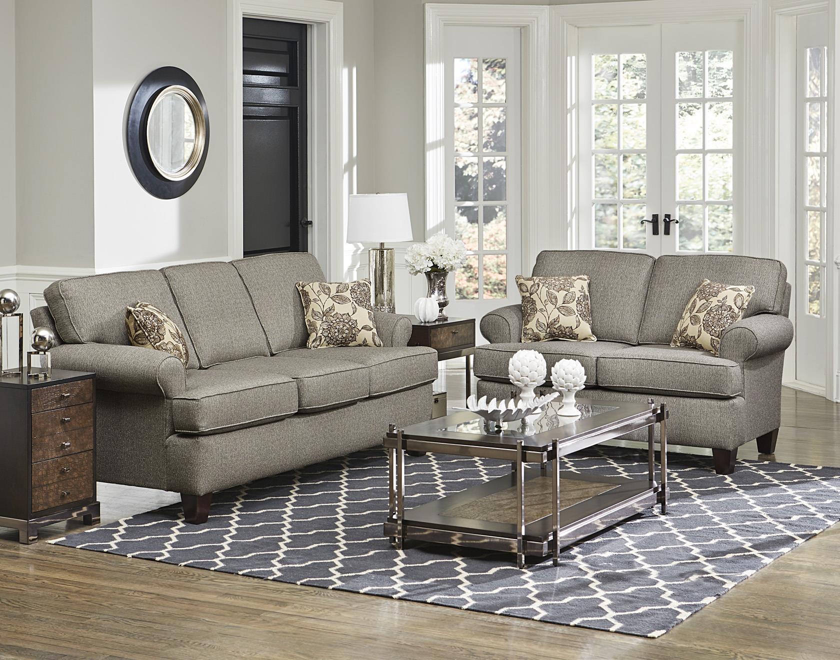 England Weaver Stationary Living Room Group Esprit Decor