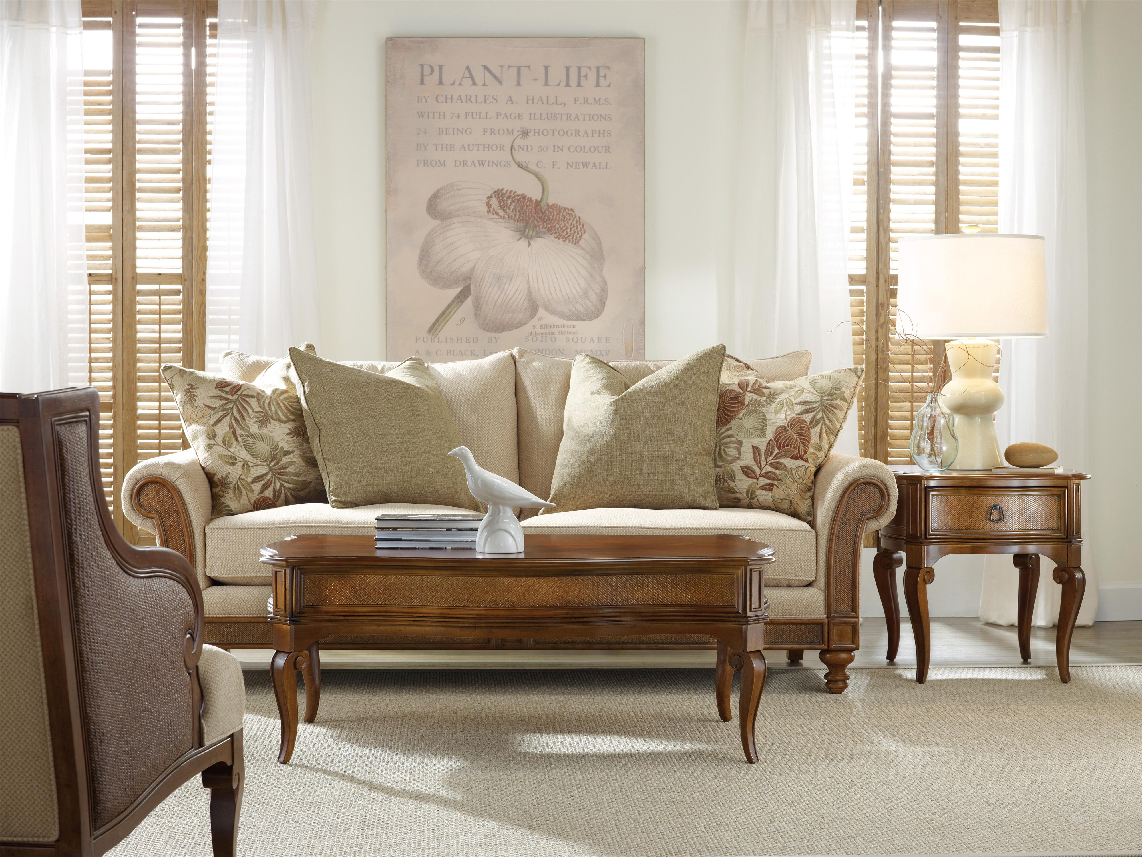 Hooker Furniture Windward Stationary Living Room Group - Item Number: 1125 Living Room Group 1