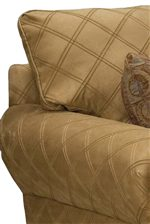 Loose Pillow Fluffed Seat Backs Provide Lasting Comfort and Durability