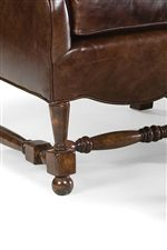 Decoratively Turned Chippendale Wood Legs