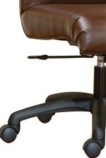 Comfortable Upholstered Seats and Professional Caster Wheels Allow for Moving Around Your Office with Sophisticated Ease