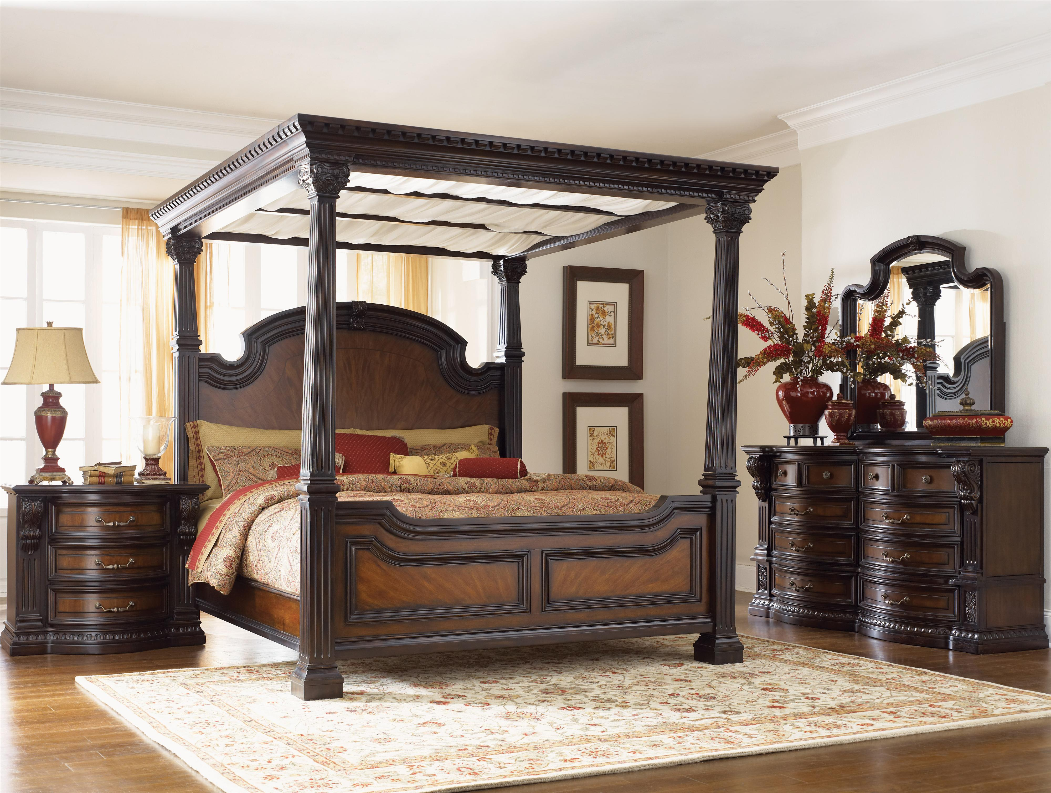Fairmont Designs Grand Estates California King Sleigh Bed w