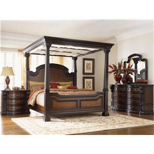 Morris Home Furnishings Grand Rapids Queen Panel Bed