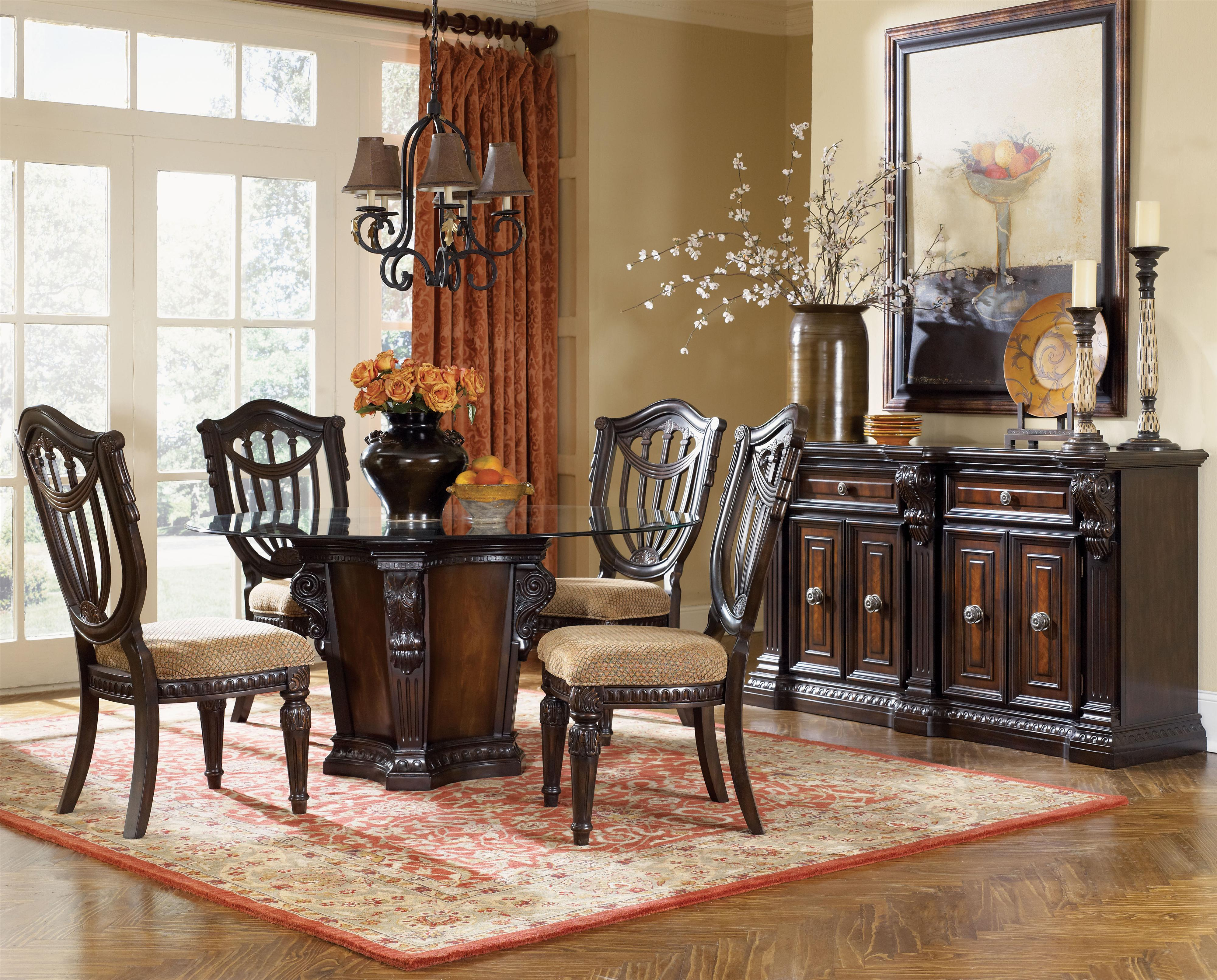 Fairmont Designs Grand Estates 7 Piece Table And Chair Set Furniturewebsite Dining Or More Sets