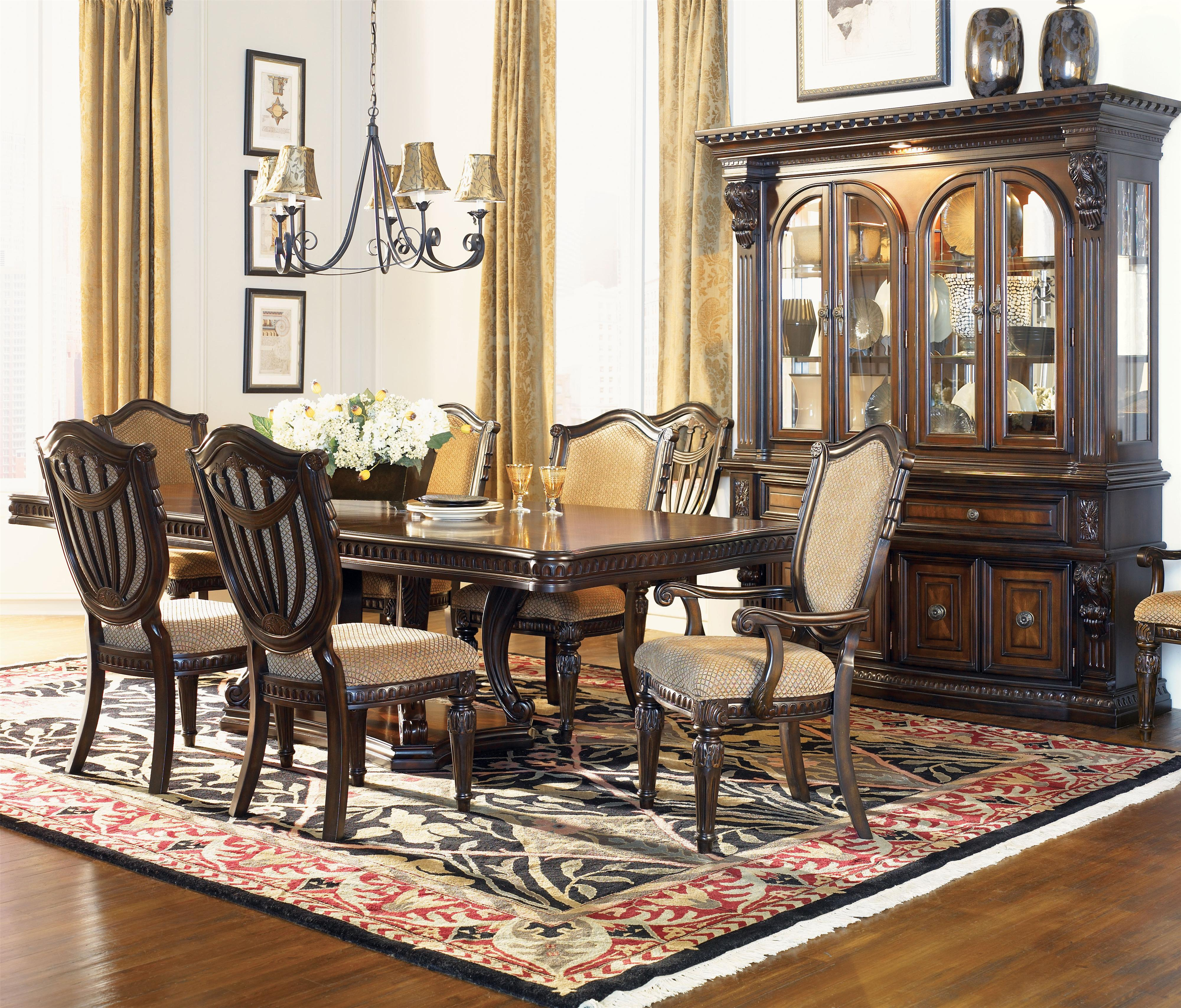 Fairmont Designs Grand Estates Formal Dining Room Group ...