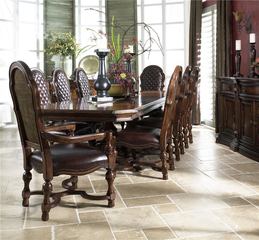 Upscale Dining Room Furniture: Fine Furniture Design Viniterra Formal Dining Room Group