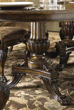Hand Carved Table Pedestal