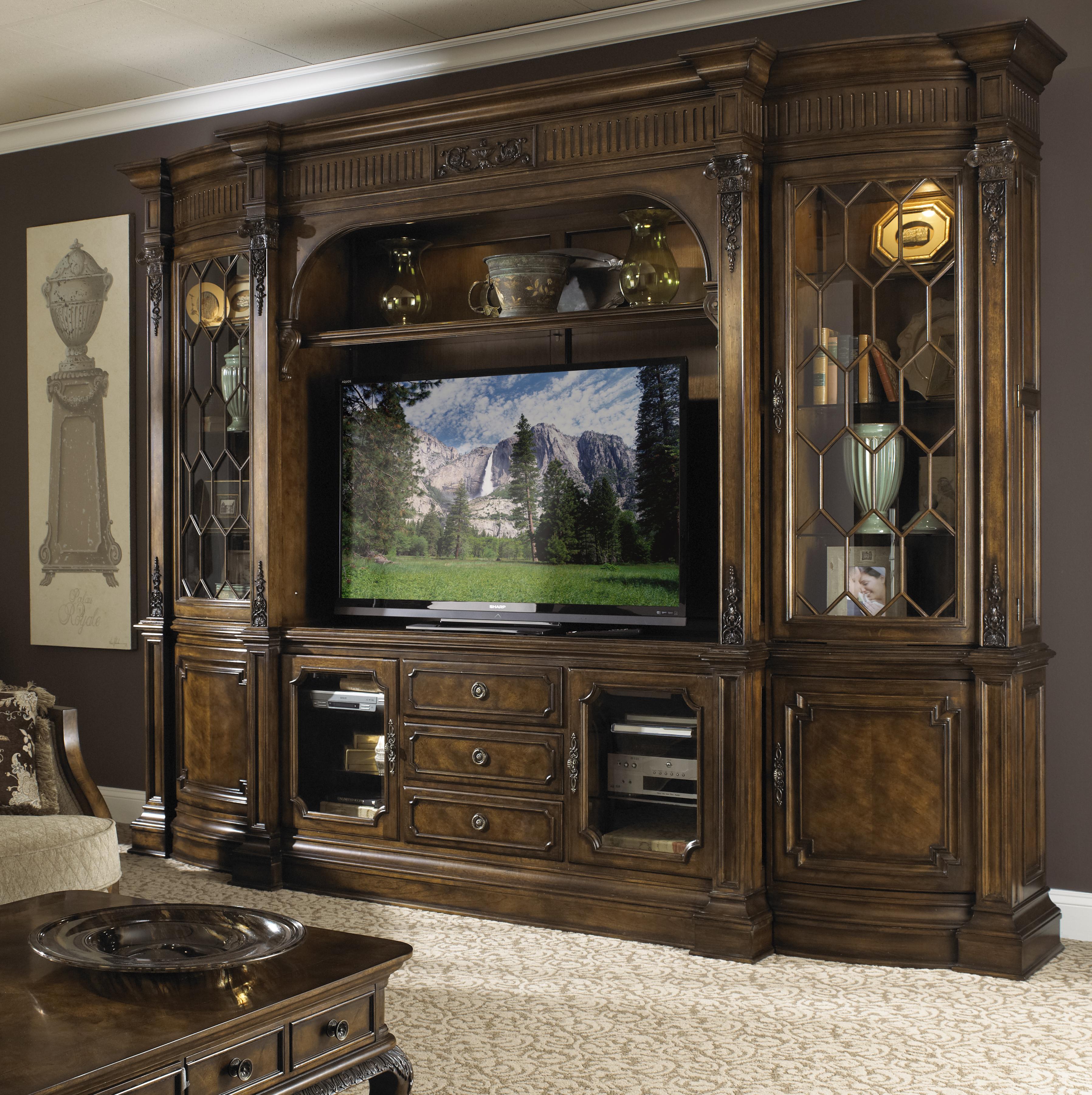 Fine Furniture Design Belvedere Traditional Entertainment Center ...