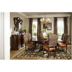 Michael Harrison Collection Biltmore Hunt Club Square Dining Table