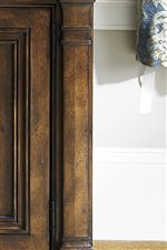 Pieces Feature Simple, Flat Pilasters