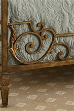 Collection Features Gold Painted Metal Details