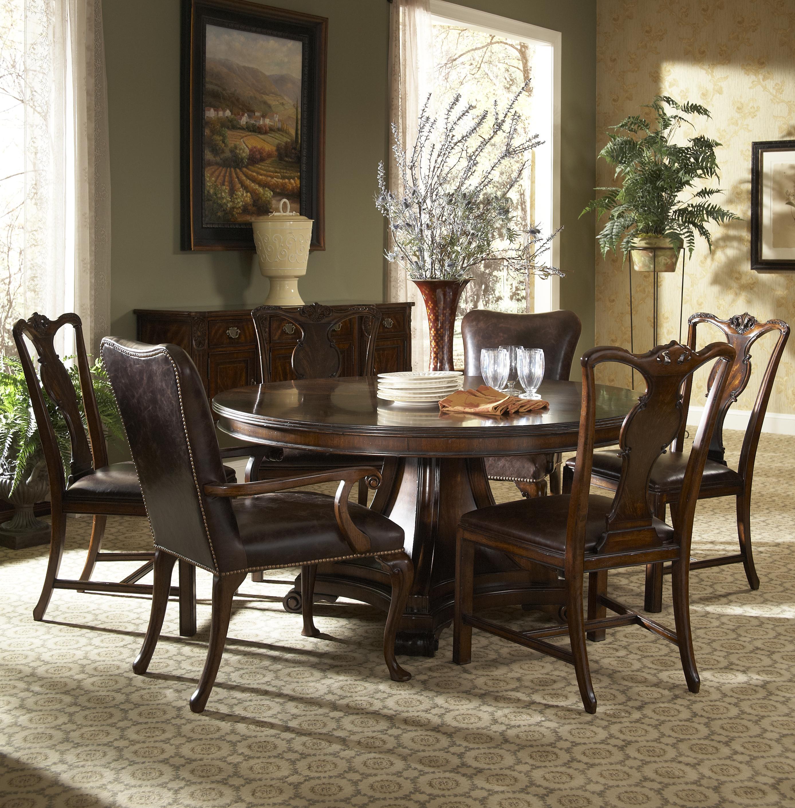 Simple And Formal Dining Room Sets: Fine Furniture Design Hyde Park Formal Dining Room Group