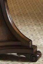 Scrolled Pedestal