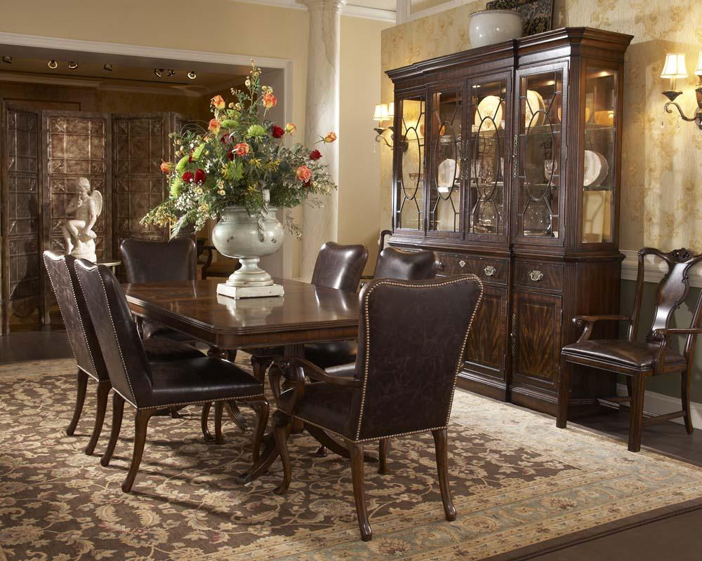 Fine Dining Room Tables And Chairs: Fine Furniture Design Hyde Park Formal Dining Room Group