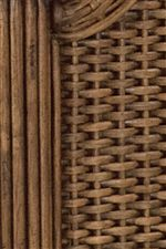 Woven Detail Featured on Guesthouse Woven Headboard and Footboard