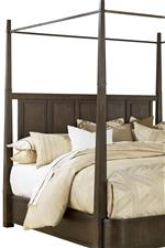 Avery Metal Canopy Bed Panel Headboard