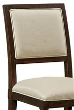 Upholstered Ellis Chair Back
