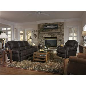 Flexsteel Latitudes - Capitol Reclining Living Room Group