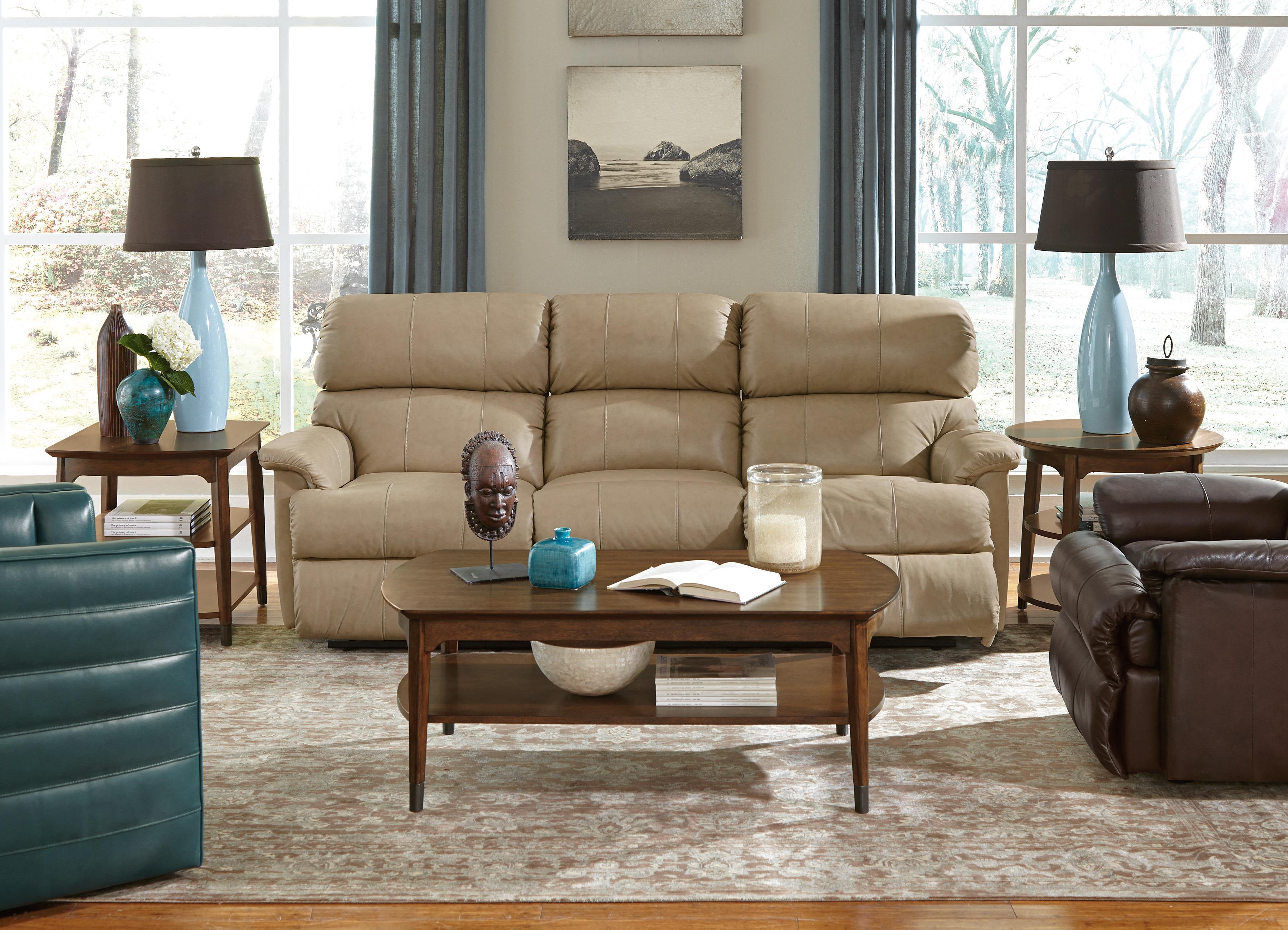 "Flexsteel Chicago 87"" Chicago Double Reclining Sofa Wayside"