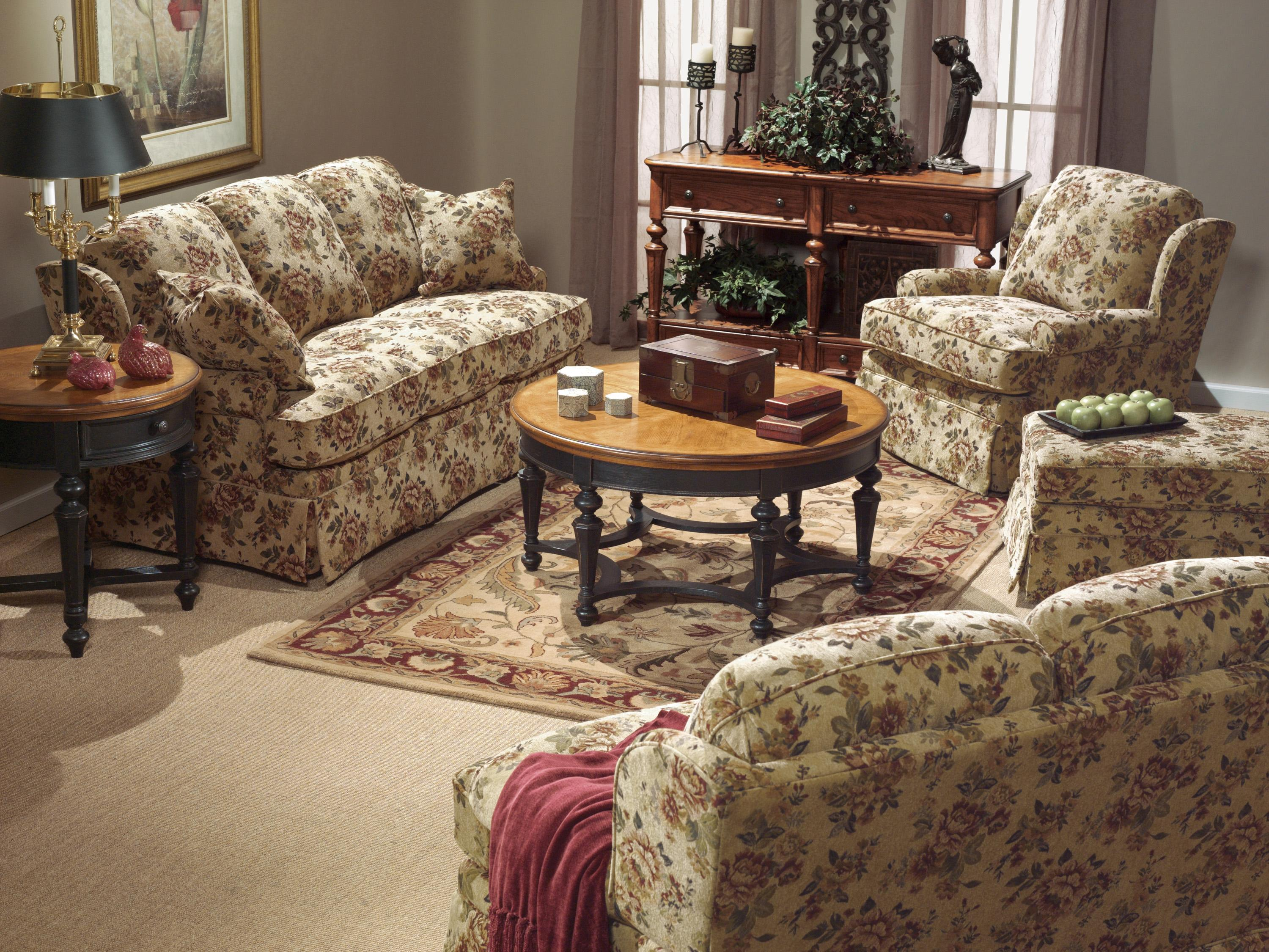 Flexsteel Danville Stationary Living Room Group - Item Number: SOF Living Room Group 1